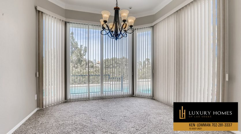french windows at Canyon Gate Country Club Home for Sale, 8912 Rainbow Ridge Dr