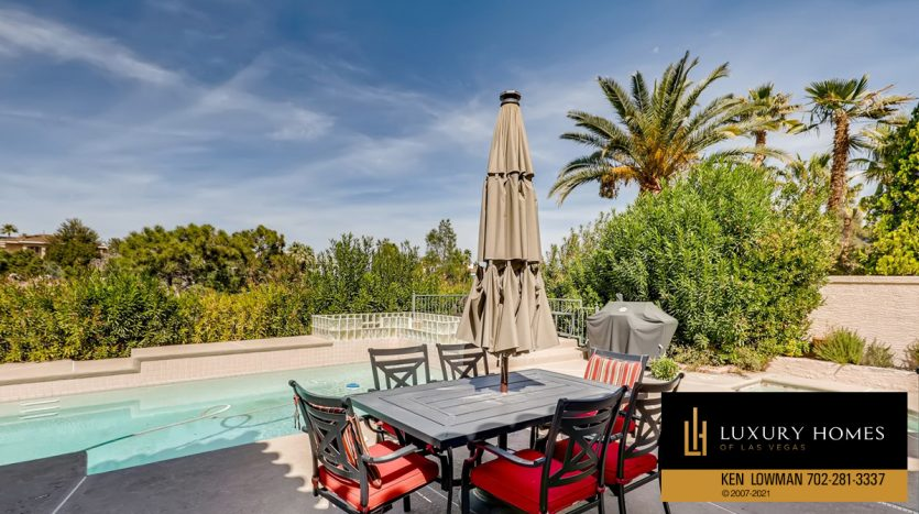 pool view at Canyon Gate Country Club Home for Sale, 8912 Rainbow Ridge Dr