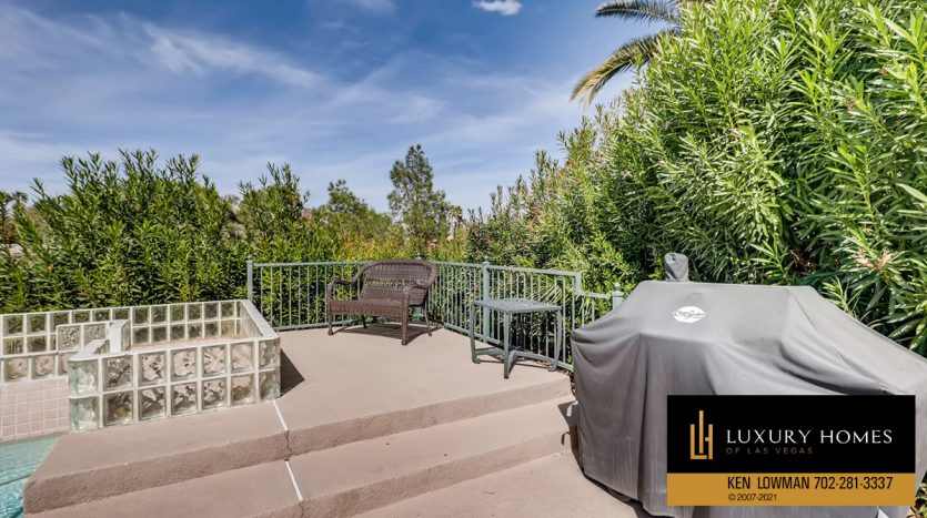BBQ facility at Canyon Gate Country Club Home for Sale, 8912 Rainbow Ridge Dr
