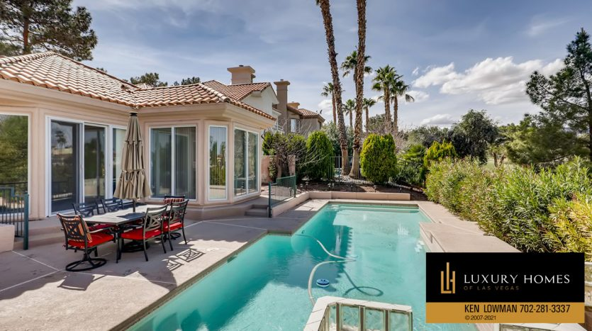 poolside at Canyon Gate Country Club Home for Sale, 8912 Rainbow Ridge Dr