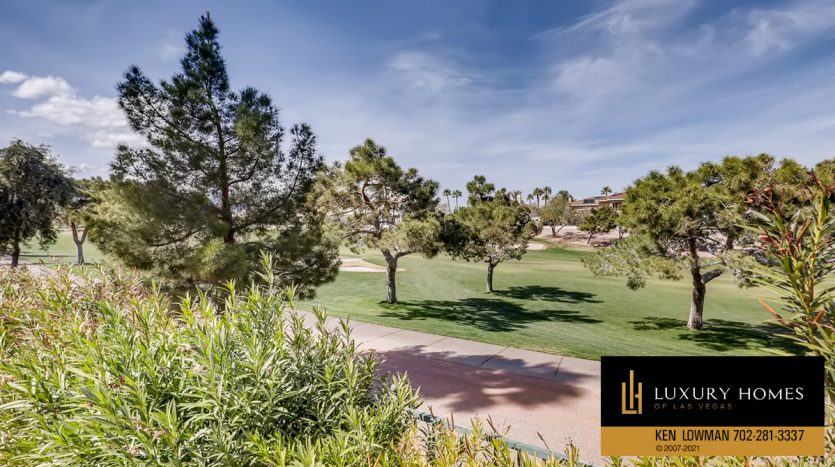golf course view at Canyon Gate Country Club Home for Sale, 8912 Rainbow Ridge Dr