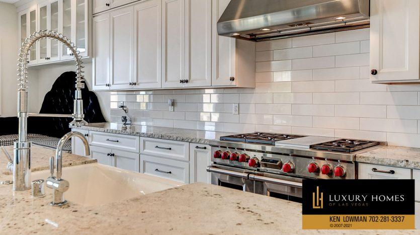 kitchen at Northwest Las Vegas Home for Sale, 5430 Serenity Brook Dr