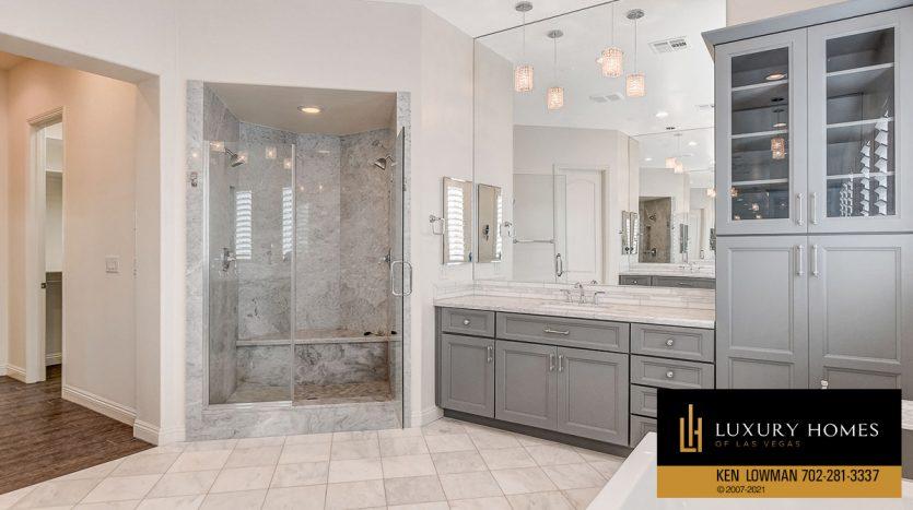 bathroom area at Northwest Las Vegas Home for Sale, 5430 Serenity Brook Dr