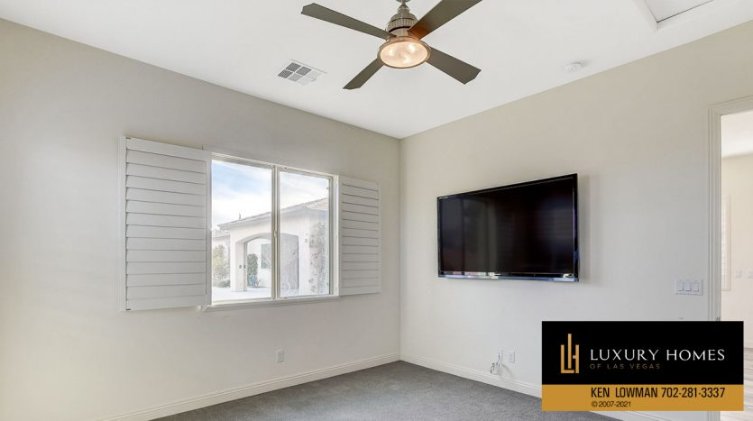 livign area in casita at Northwest Las Vegas Home for Sale, 5430 Serenity Brook Dr