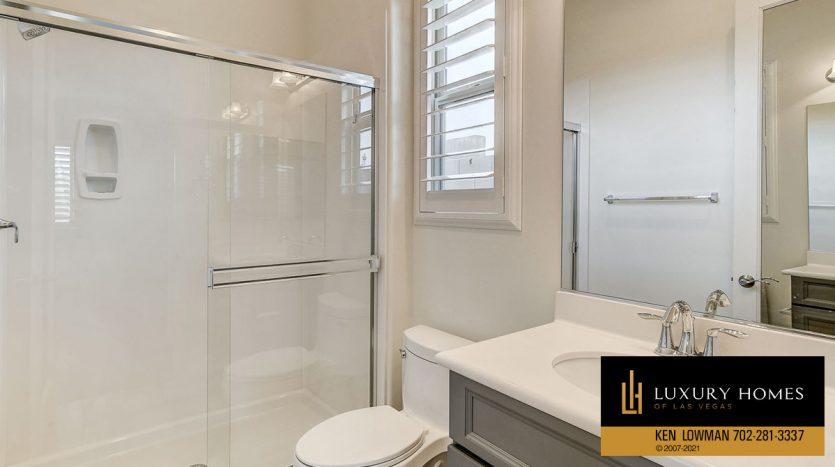 shower room at casita at Northwest Las Vegas Home for Sale, 5430 Serenity Brook Dr