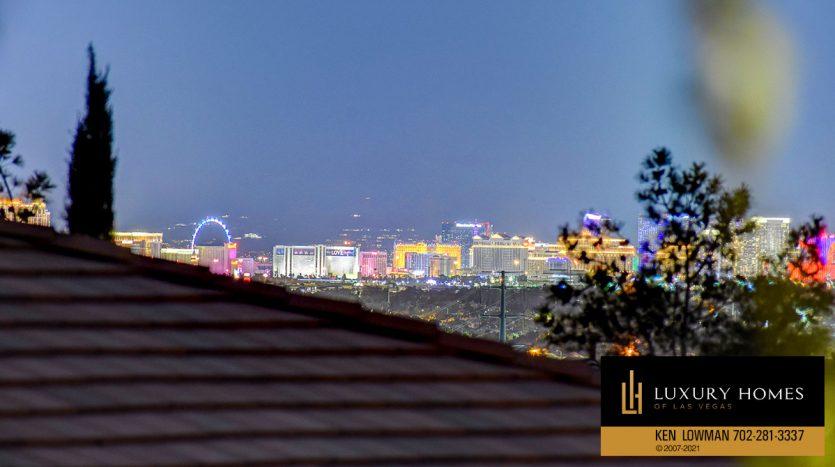 vegas views at Northwest Las Vegas Home for Sale, 5430 Serenity Brook Dr