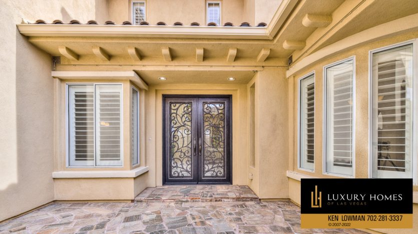 entrance at Red Rock Country Club Home for Sale, 2122 Country Cove Ct