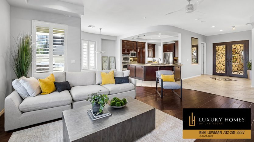 large kitchen area at Red Rock Country Club Home for Sale, 2122 Country Cove Ct