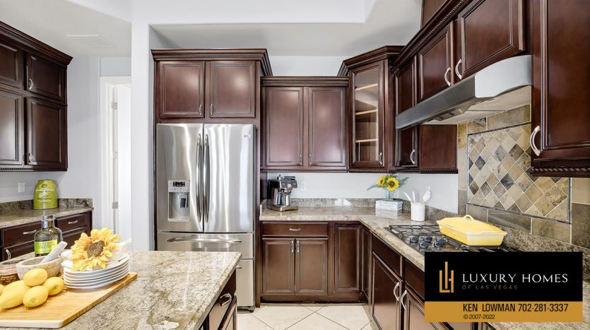 outdoor balcony at Red Rock Country Club Home for Sale, 2122 Country Cove Ct