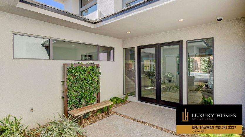 entrance to The Ridges Home for Sale, 81 Pristine Glen St, Las Vegas, NV 89135