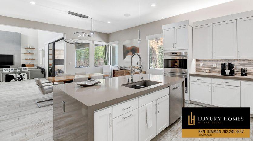 kitchen countertops at The Ridges Home for Sale, 81 Pristine Glen St, Las Vegas, NV 89135