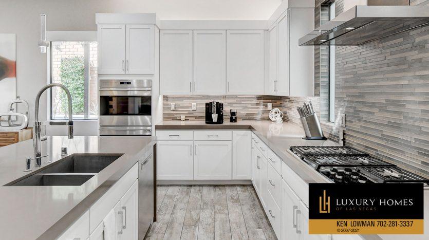 kitchen at The Ridges Home for Sale, 81 Pristine Glen St, Las Vegas, NV 89135