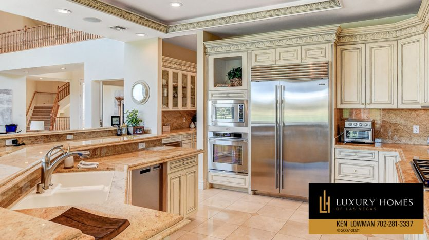 kitchen at Canyon Gate Country Club Home for Sale, 8900 Canyon Springs