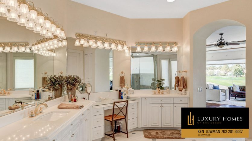 changing room at Canyon Gate Country Club Home for Sale, 8900 Canyon Springs