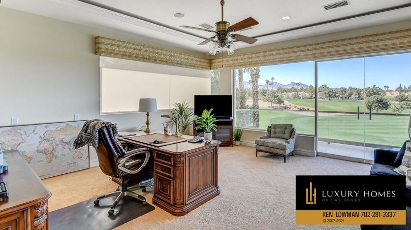 work area at Canyon Gate Country Club Home for Sale, 8900 Canyon Springs