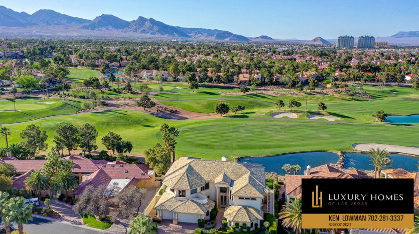golf course view at Canyon Gate Country Club Home for Sale, 8900 Canyon Springs
