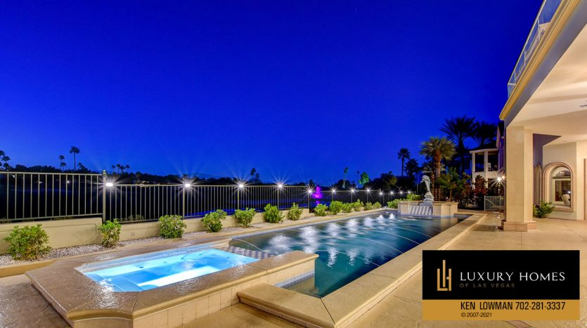 poolside at Canyon Gate Country Club Home for Sale, 8900 Canyon Springs