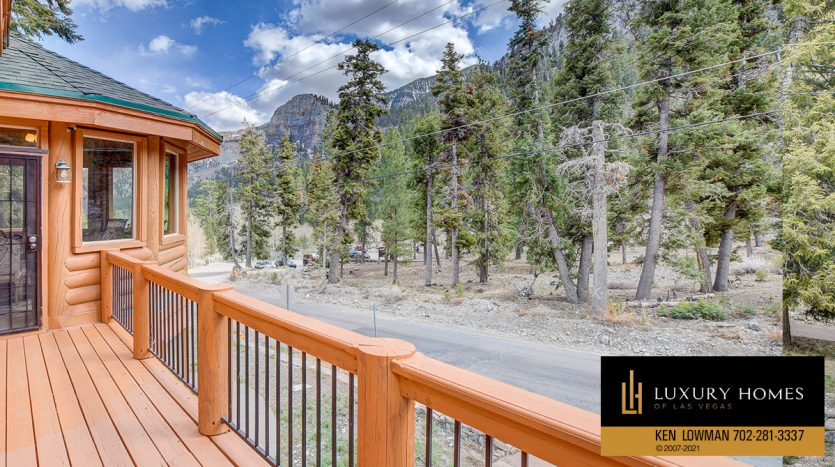 outdoor view at Mt Charleston Home for Sale, 352 Echo Rd