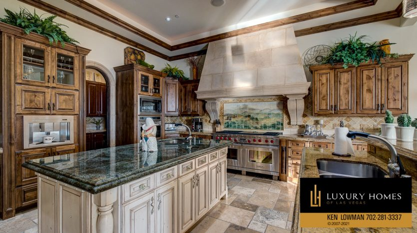 kitchen at Seven Hills Home for Sale, 1610 Villa Rica