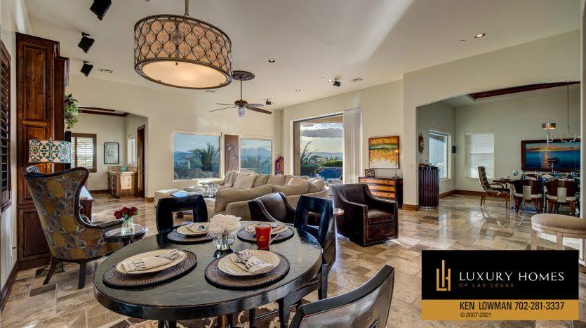 breakfast area at Seven Hills Home for Sale, 1610 Villa Rica