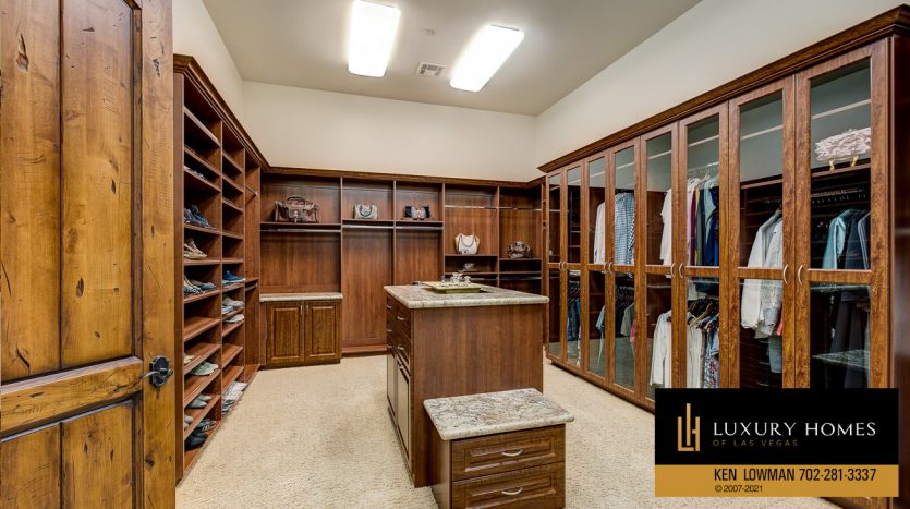 changing closets at Seven Hills Home for Sale, 1610 Villa Rica