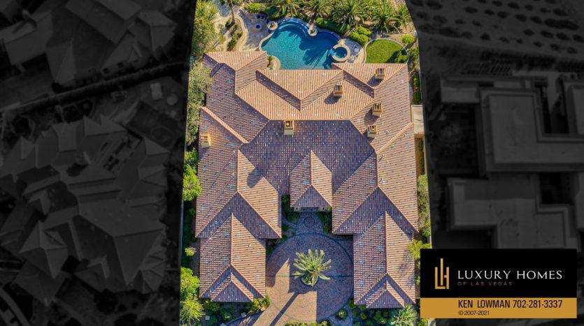 drone view of Seven Hills Home for Sale, 1610 Villa Rica