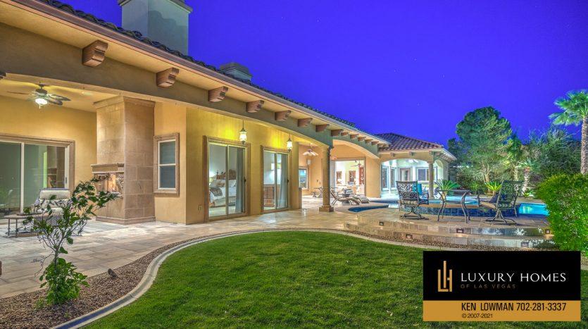 backyard at Seven Hills Home for Sale, 1610 Villa Rica