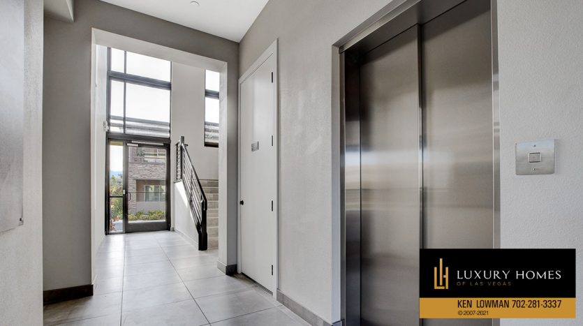 elevator entrance at The Ridges Home for Sale, 11280 Granite Ridge #1097