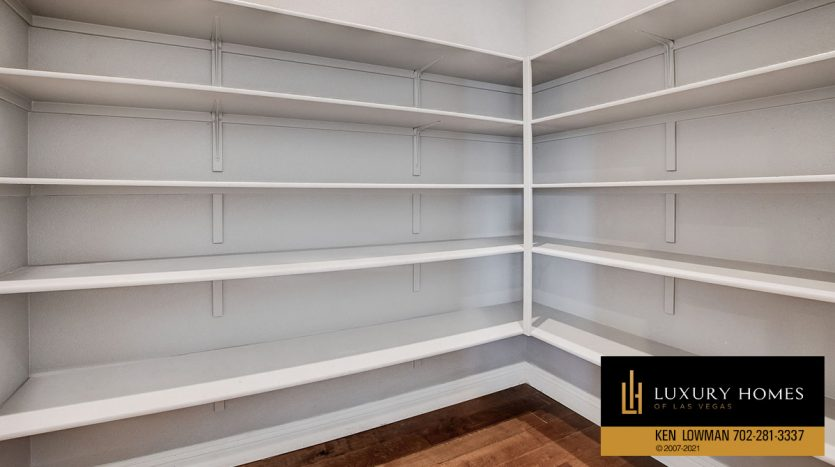 clothing cabinets at The Ridges Home for Sale, 11280 Granite Ridge #1097