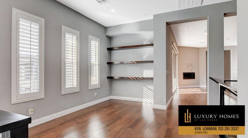 storage shelves at The Ridges Home for Sale, 11280 Granite Ridge #1097