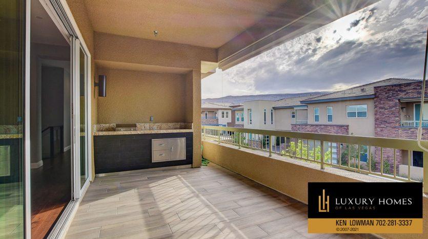 balcony at The Ridges Home for Sale, 11280 Granite Ridge #1097