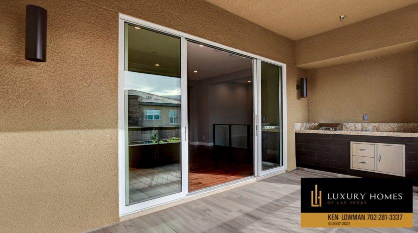 balcony doors at The Ridges Home for Sale, 11280 Granite Ridge #1097