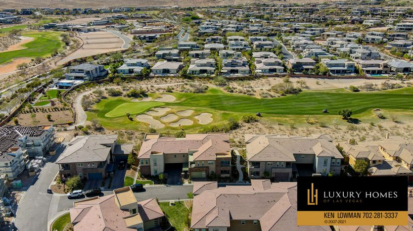 drone view of The Ridges Home for Sale, 11280 Granite Ridge #1097