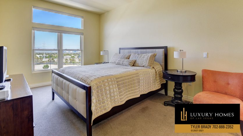 bedroom at District at Green Valley Ranch Home for Sale, 2220 Village Walk Dr #3306