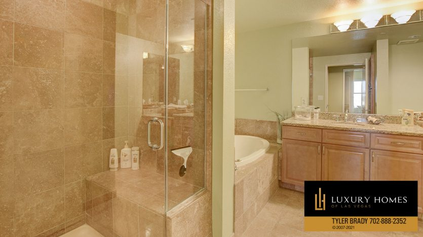 bath at District at Green Valley Ranch Home for Sale, 2220 Village Walk Dr #3306