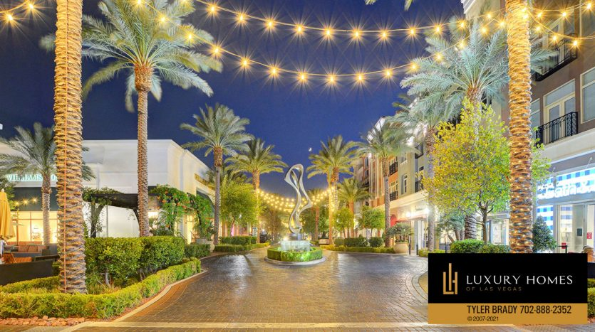 walkway at District at Green Valley Ranch Home for Sale, 2220 Village Walk Dr #3306