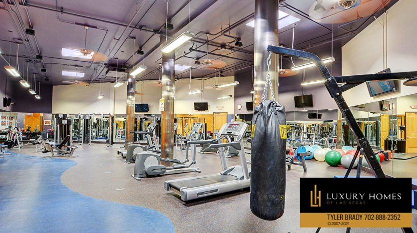 common gym at District at Green Valley Ranch Home for Sale, 2220 Village Walk Dr #3306