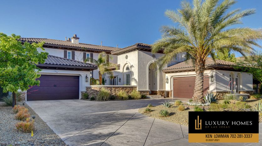 entrance at Red Rock Country Club Home for Sale, 11606 Morning Grove Dr