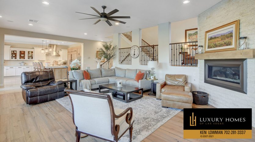 lounge area at Red Rock Country Club Home for Sale, 11606 Morning Grove Dr