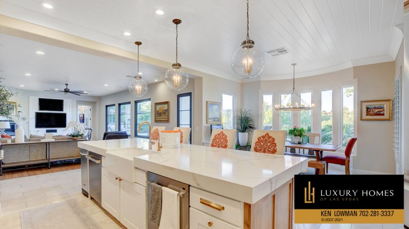 kitchen counter top at Red Rock Country Club Home for Sale, 11606 Morning Grove Dr