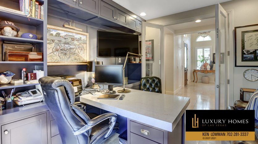 work area at Red Rock Country Club Home for Sale, 11606 Morning Grove Dr