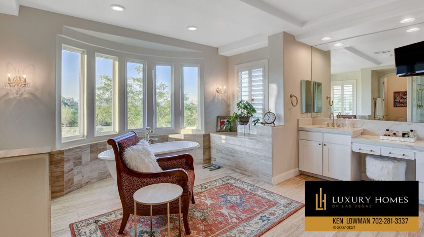 bath at Red Rock Country Club Home for Sale, 11606 Morning Grove Dr