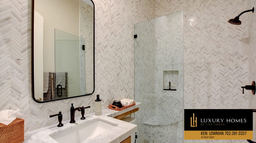 bathroom at Red Rock Country Club Home for Sale, 11606 Morning Grove Dr