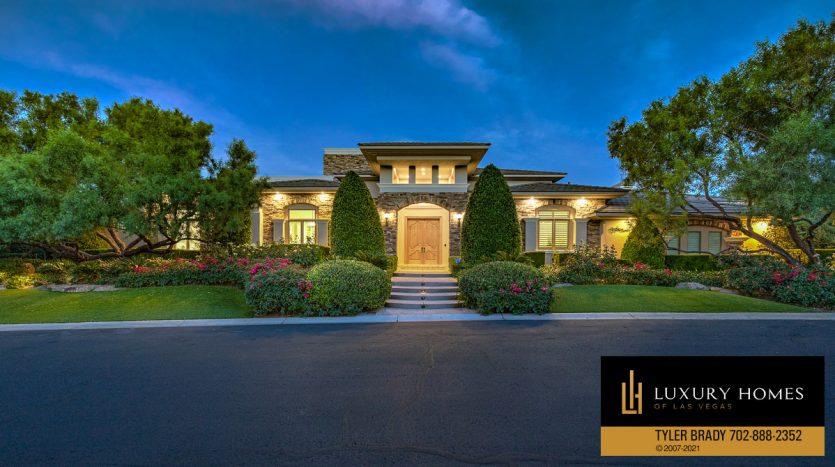The Ridges Home for Sale, 25 Promontory Ridge Dr, Las Vegas, NV 89135