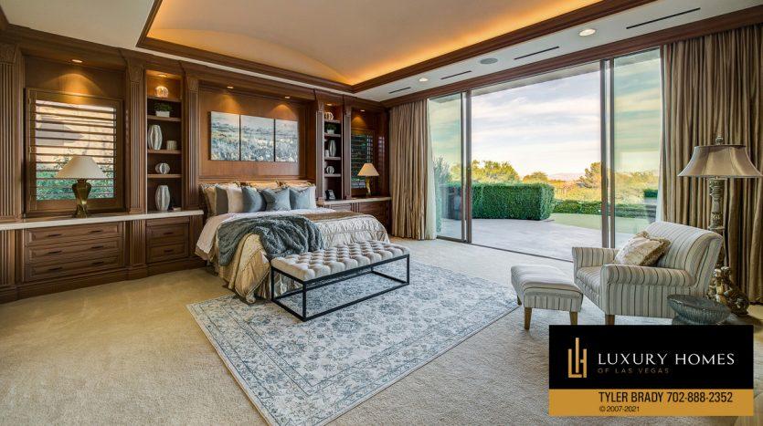 bedroom at The Ridges Home for Sale, 25 Promontory Ridge Dr, Las Vegas, NV 89135