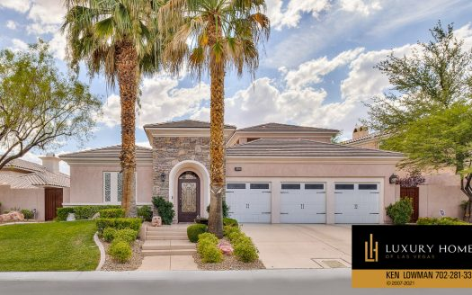 Red Rock Country Club Home for Sale, 3301 Elk Clover St, Las Vegas