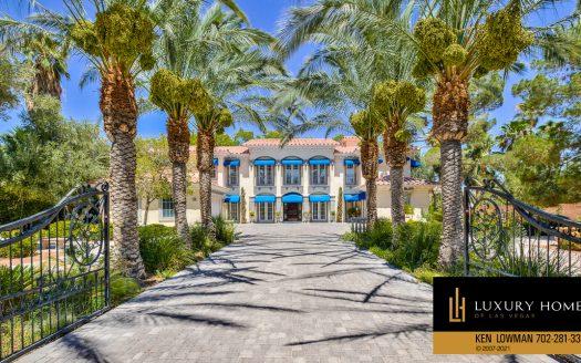 Las Vegas Luxury Home, 2900 Pinto Lane, Las Vegas