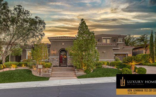 Red Rock Home for Sale, 11533 Evergreen Creek Ln, Las Vegas
