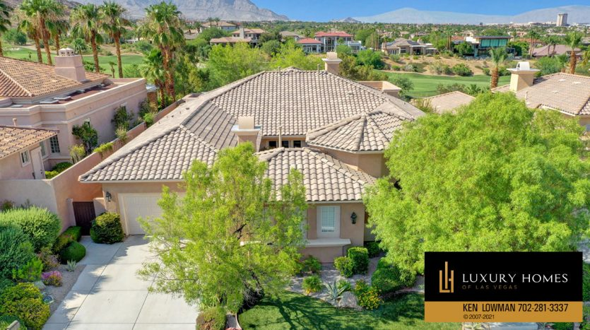 Red Rock Country Club Home for Sale, 11580 Evergreen Creek Ln, Las Vegas
