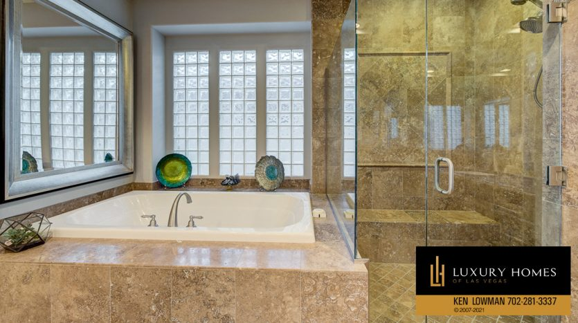 bath at Red Rock Country Club luxury home, 1955 Orchard Mist St